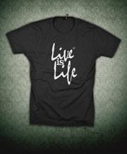 chemise produit opus : la vie, c'est la vie